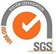 SGS ISO-9001 TCL HR1