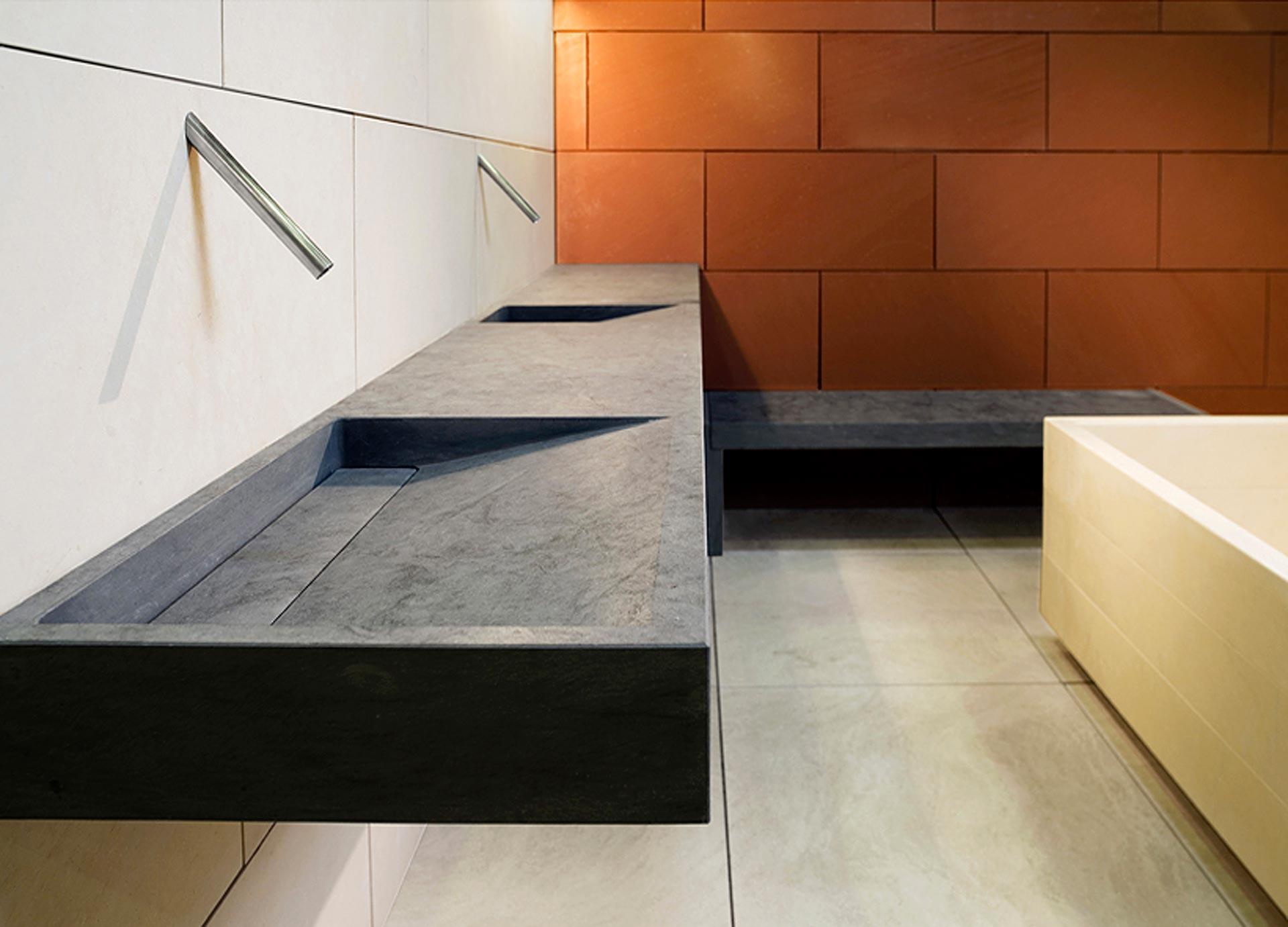 architecture and interiors design, marble floors, cladding - Arredamento Interior Design