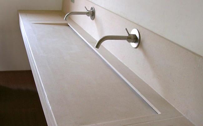 Lavabo in Florence Cream, arredamento di interni