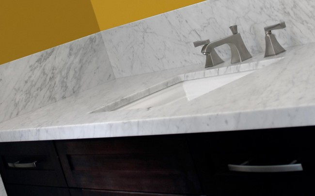 Lavandino in marmo, Architettura e Arredamento Interni