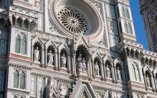 architettura classica rosone
