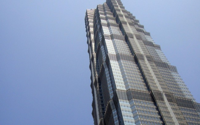 Jin Mao Tower Shangai, marmo Calacata Golden