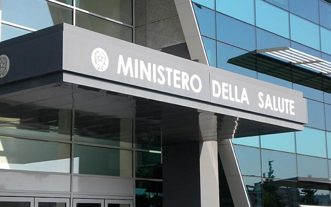 Ministero della Sanità - Roma, marmo bianco Thomas