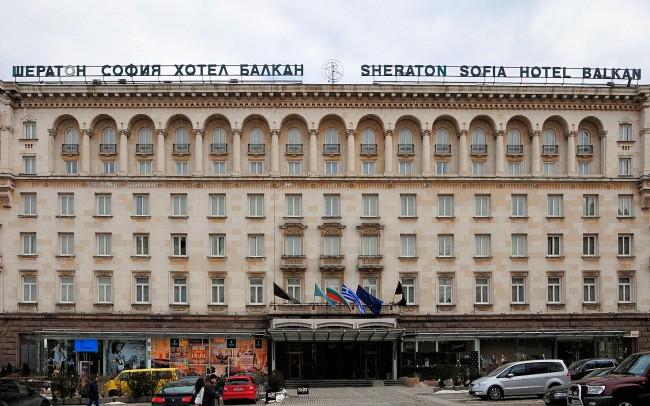 Sheraton Hotel Sofia, Bulgaria