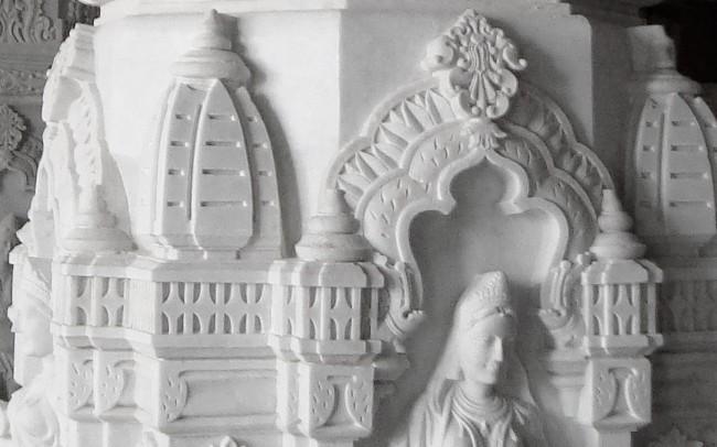 Tempio Prem Mandir - India, Bianco Carrara