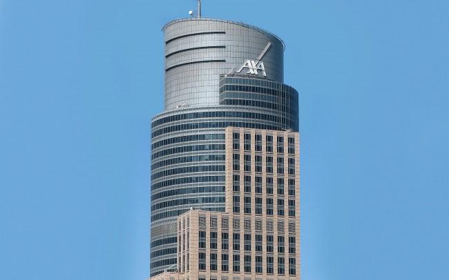 Trade Towers Warsaw, Poland, marble Anbatomanga
