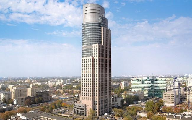 Trade Tower Varsavia, Polonia, marmo Anbatomanga