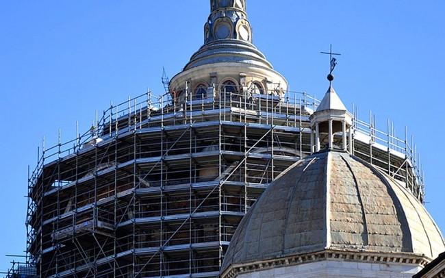 Restauro Cappella Sindone Duomo di Torino 2