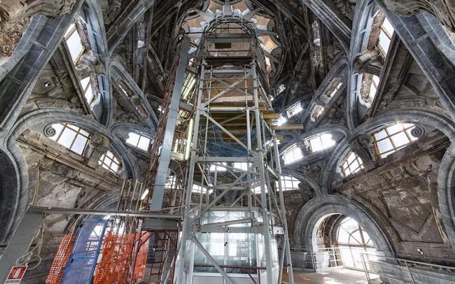 Restauro Cappella Sindone Duomo di Torino 3