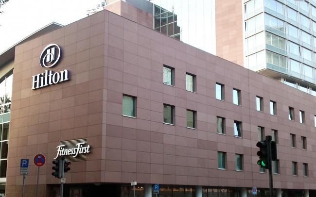 Hilton Hotel Francoforte marmo Rosso Ambatomanga