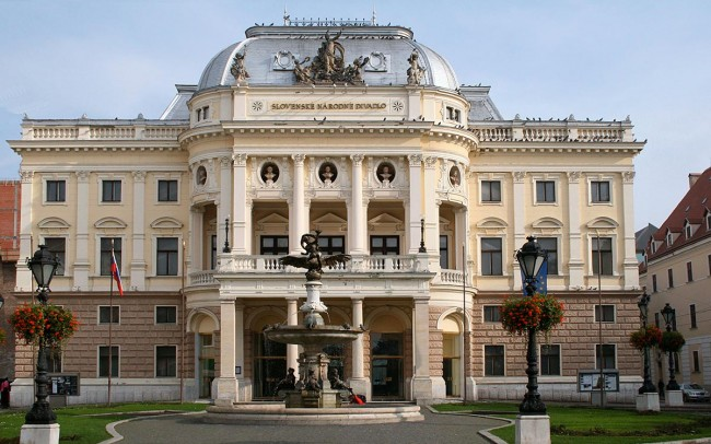 National Theatre Bratislava Slovakia 1